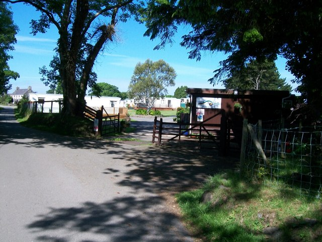 Caravan Park at Bryngolau, Y Ffor