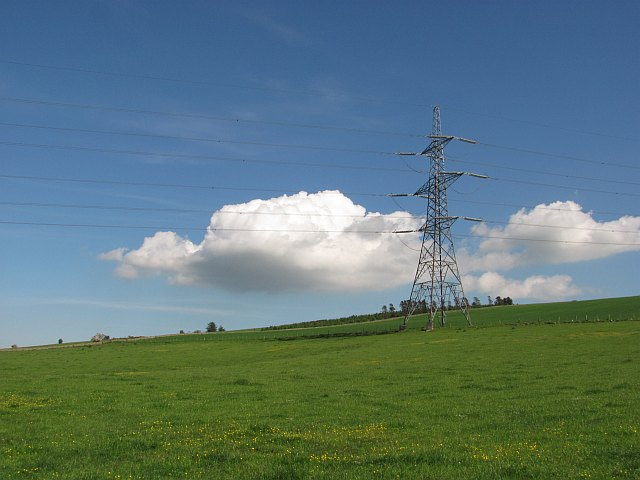 Torness - Eccles power line