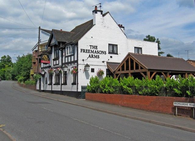 The Freemasons Arms (2), Bromsgrove Road