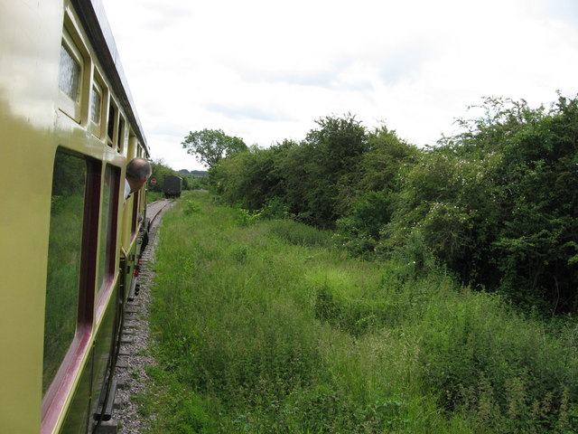 Current end of line on Swindon & Cricklade Railway