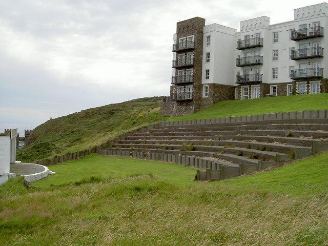 Amphitheatre on Douglas Head