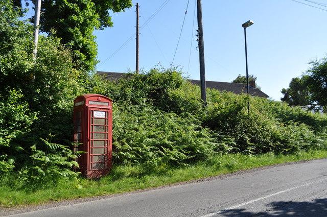 Telephone kiosk at Viney Hill