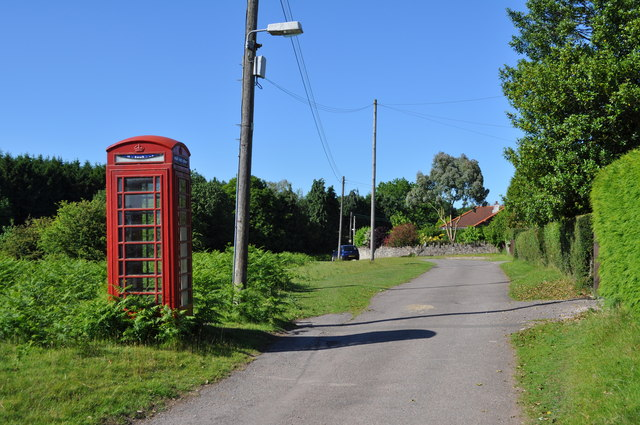 Telephone kiosk at Oldcroft