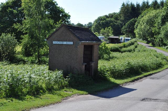 Bus stop in Oldcroft Road