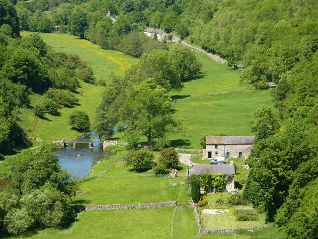 Downward view from Monsal Head
