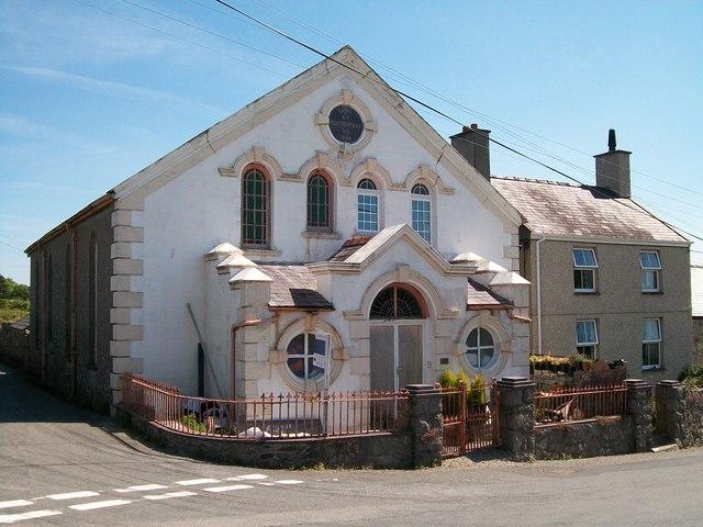 The former Capel  Pentreuchaf (M.C.)