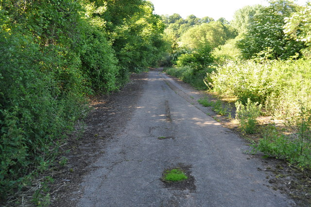 Section of disused A48