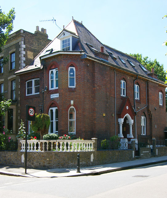 Architect's house, Stoke Newington