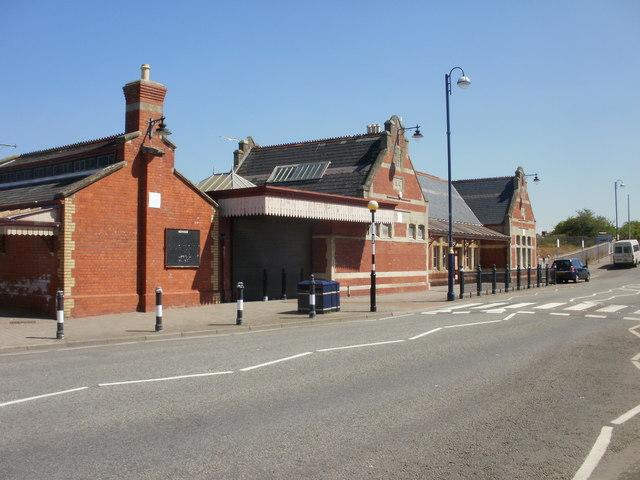 Barry Island railway station buildings