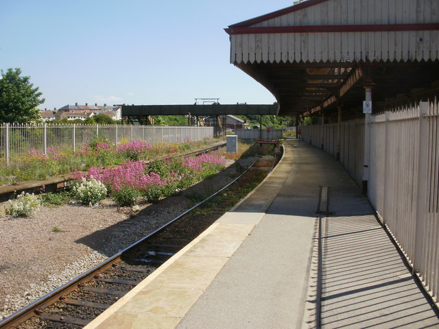 The end of the line at Barry Island railway station