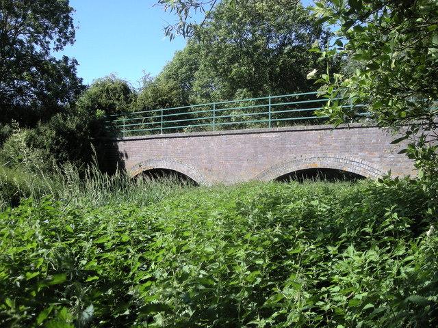 Dismantled Leamington-Weedon Line