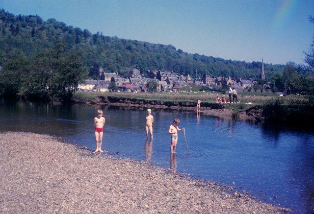 River Teith at Callander May 1961