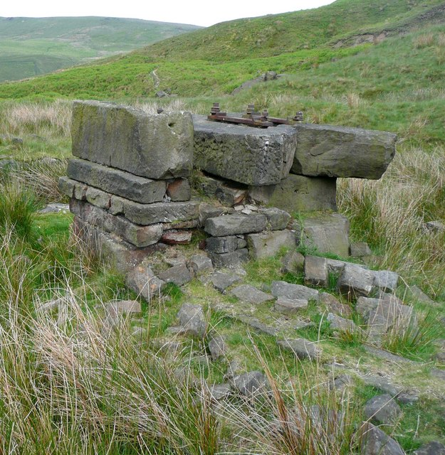 Plinth, Hey Head Green, Langfield, Todmorden
