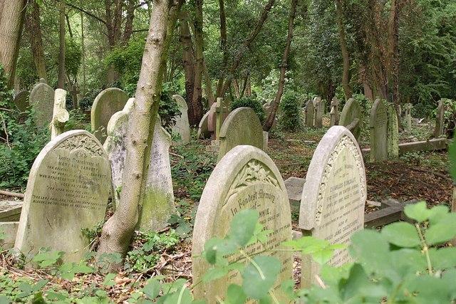 Gravestones, Highgate Cemetery