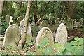 TQ2886 : Gravestones, Highgate Cemetery by Derek Harper