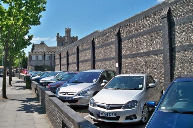 Prison Car Park - Portsmouth