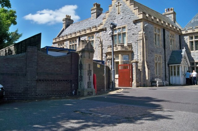 Entrance to Prison - Portsmouth