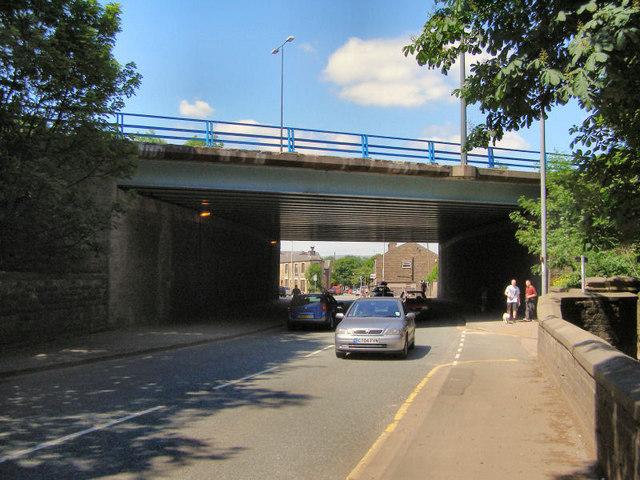 Newhey Road Motorway Bridge