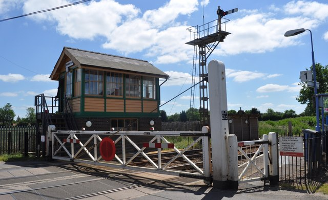 Spooner Row Signal Box and Crossing