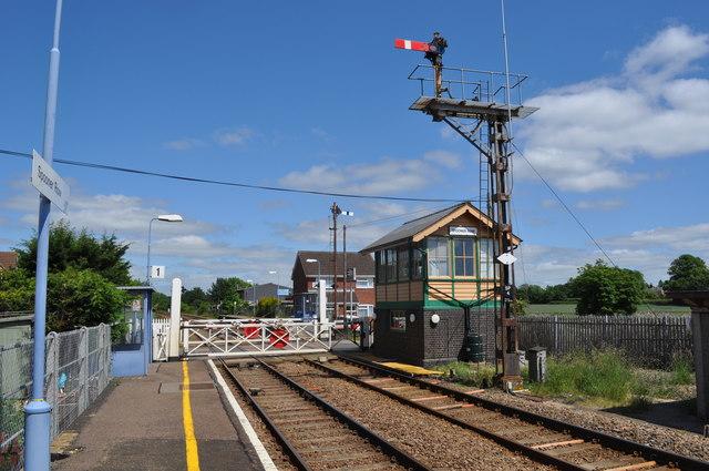 Spooner Row Railway Station