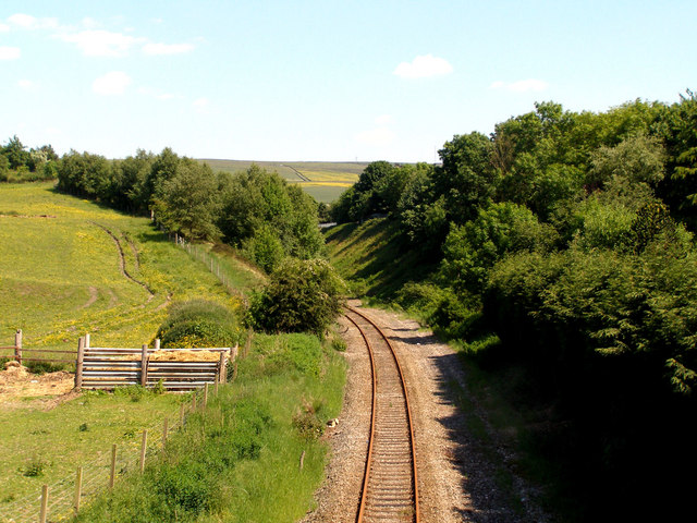 Railway towards Oldham