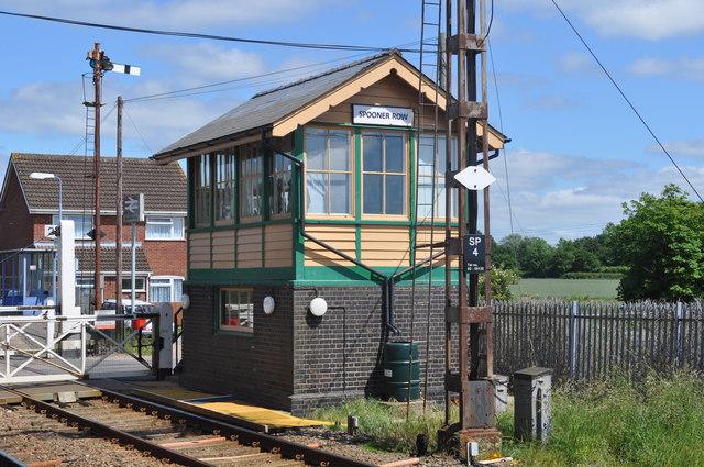 Spooner Row Signal Box