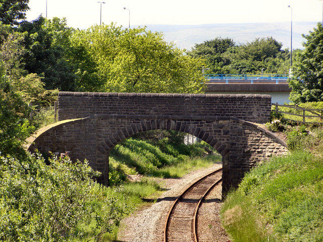 Railway towards Milnrow
