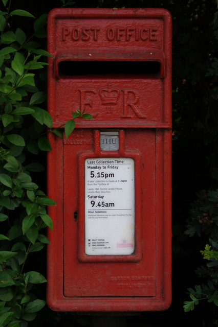 Elizabeth II Postbox, Arthington