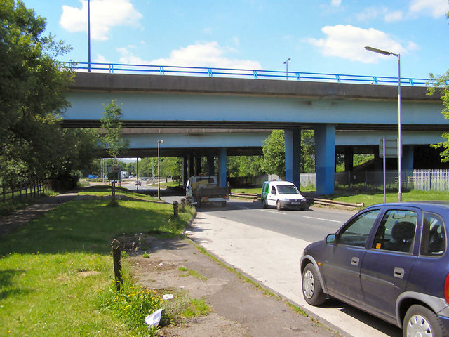 Elizabethan Way Motorway Bridge