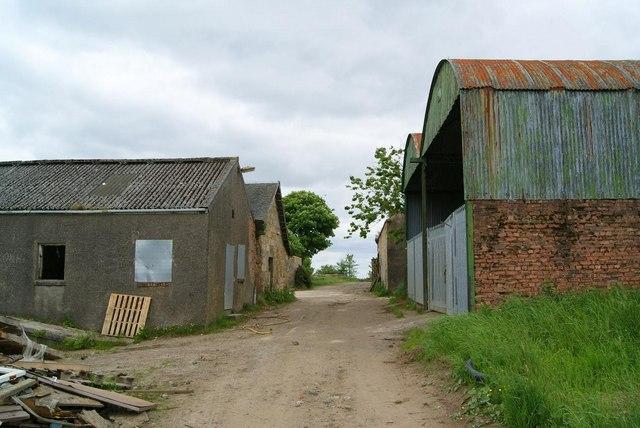 Track Through Westerwood Farm