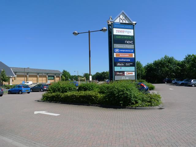Car Park at Kingston District Centre, Milton Keynes