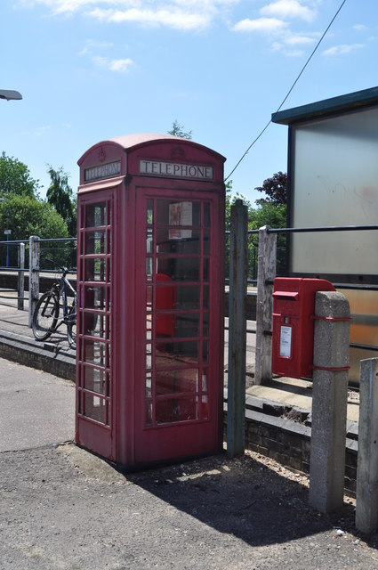 K6 Red Telephone Box and Postbox