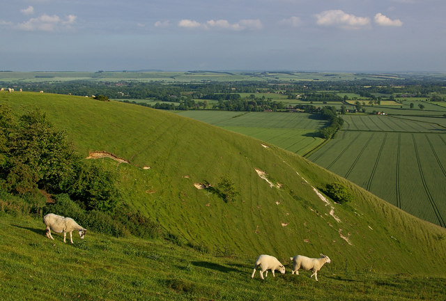 West of Draycott Hill