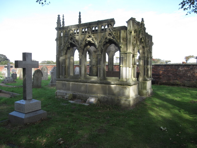St Oswald's, Filey - Rudston Memorial