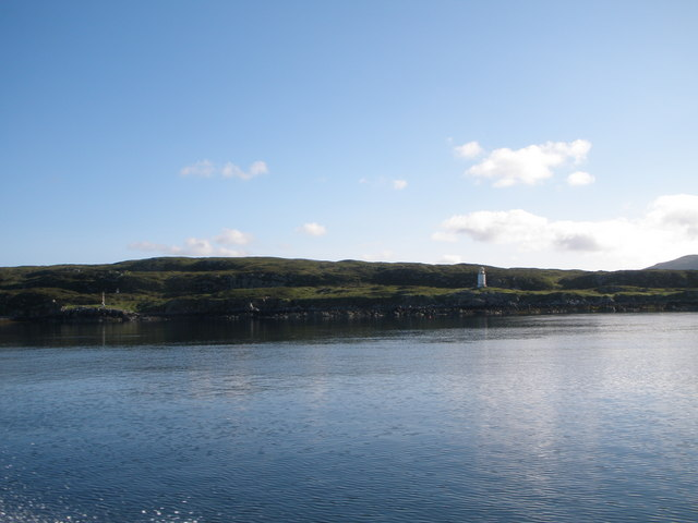Lighthouses near Leverburgh