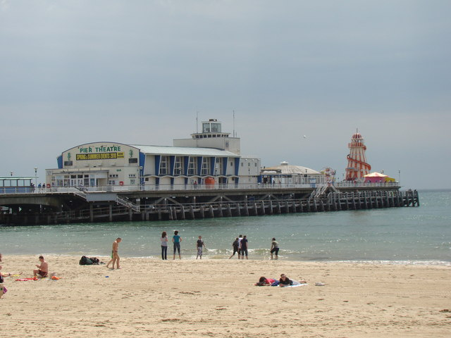 Bournemouth Pier, with amusements