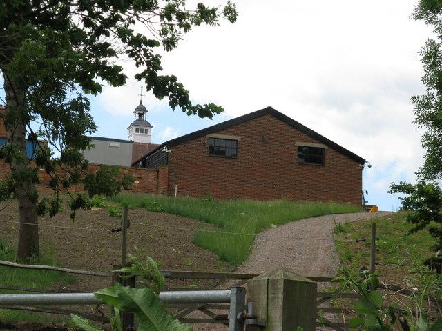 Ornate bell tower at Pickhurst