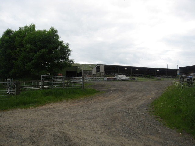 Farm buildings at Ashtrees