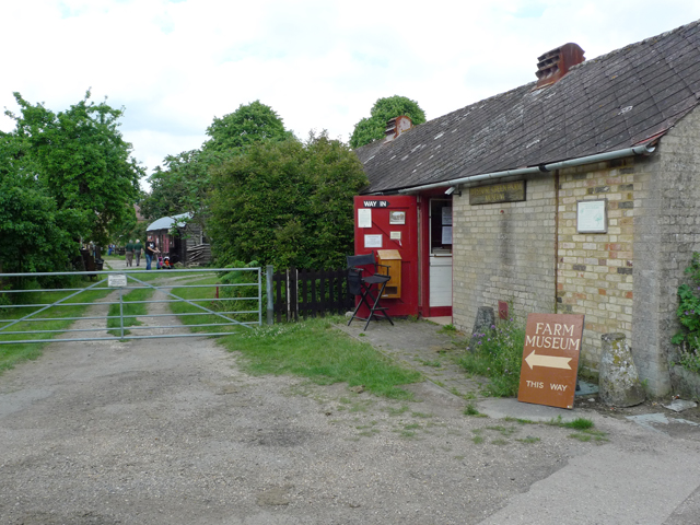 Entrance to Pitstone Green Museum