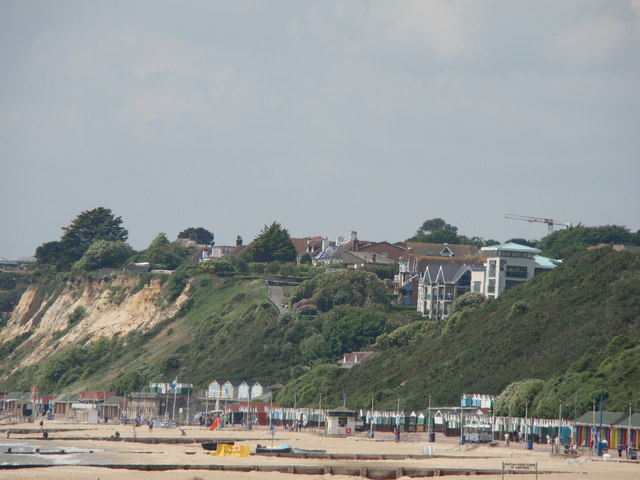 View of Westcliff from Bournemouth