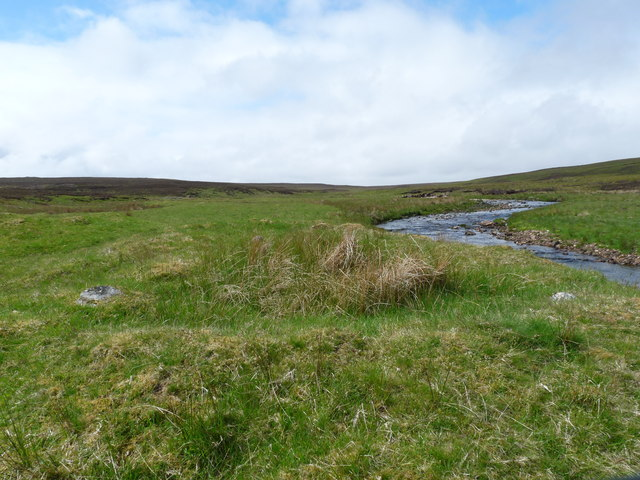 Site of a shieling by Dunbeath Water