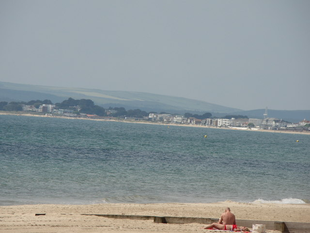 View of Poole from Bournemouth
