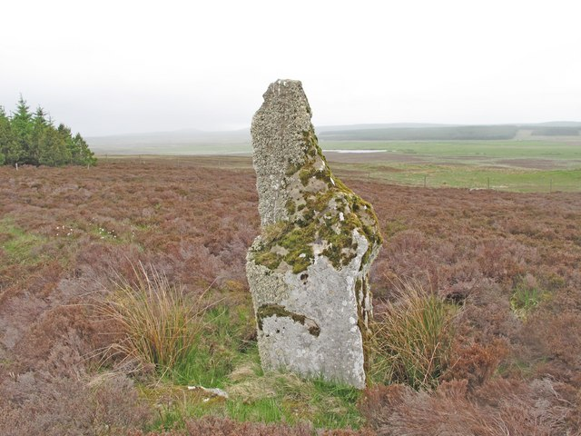 Standing Stone near Broubster