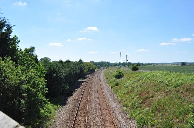 View towards Thetford/Brandon