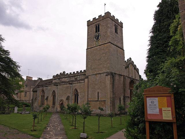 Church, Bibury