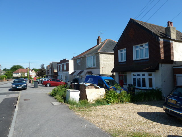 Pavement in Stakes Road
