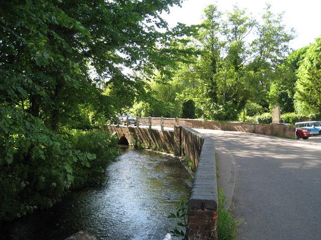 Bridge over River Darent