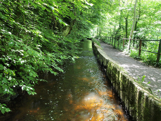Redhall Mill lade