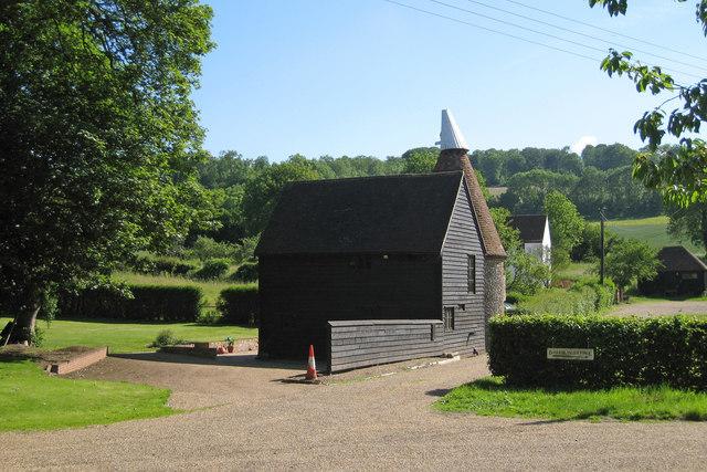 Oast House at Upper Austin Lodge Farm, Upper Austin Lodge Road, Eynsford, Kent