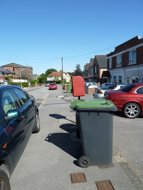 Postbox in Stakes Road